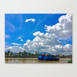 The River Bank Canvas Print