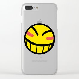 Cowboy Bebop - Hacker Smile Clear iPhone Case