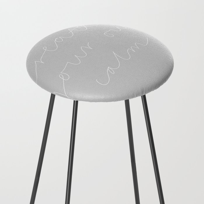 Create Your Own Calm Counter Stool By Amarinda