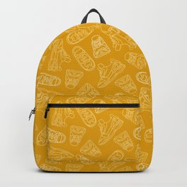 Sneakers // Gold Backpack
