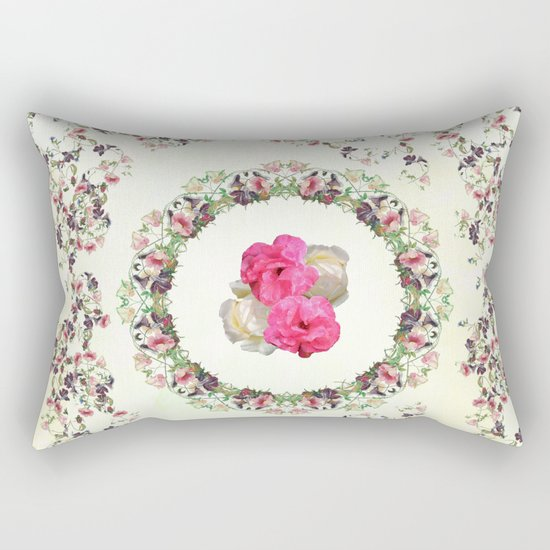 Nature is a temple Rectangular Pillow