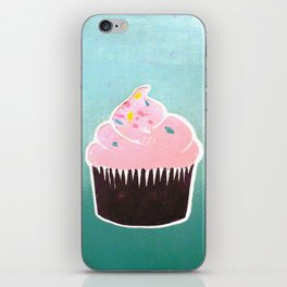 Cotton Candy Cream iPhone Skin