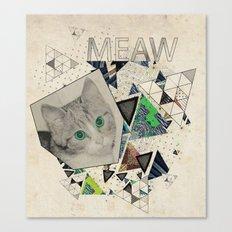 ░ MEAW ░ Canvas Print