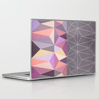 nordic Laptop & iPad Skins featuring Nordic Combination 31 Z by Mareike Böhmer