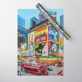 Times Square III Special Edition I Wrapping Paper