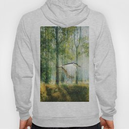 Magical Forests Impressionism Hoody