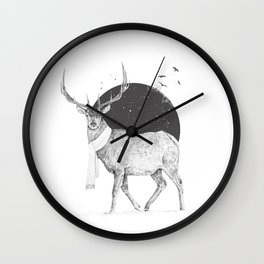 Winter is all around Wall Clock