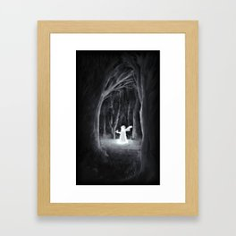 I Thought I'd Lost You Framed Art Print