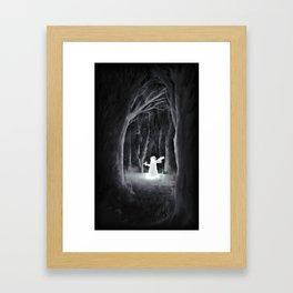 I Thought I'd Lost You Framed Art Print