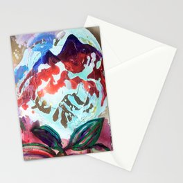 For purple mountain majesties Stationery Cards