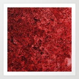 Lava And Blood Art Print