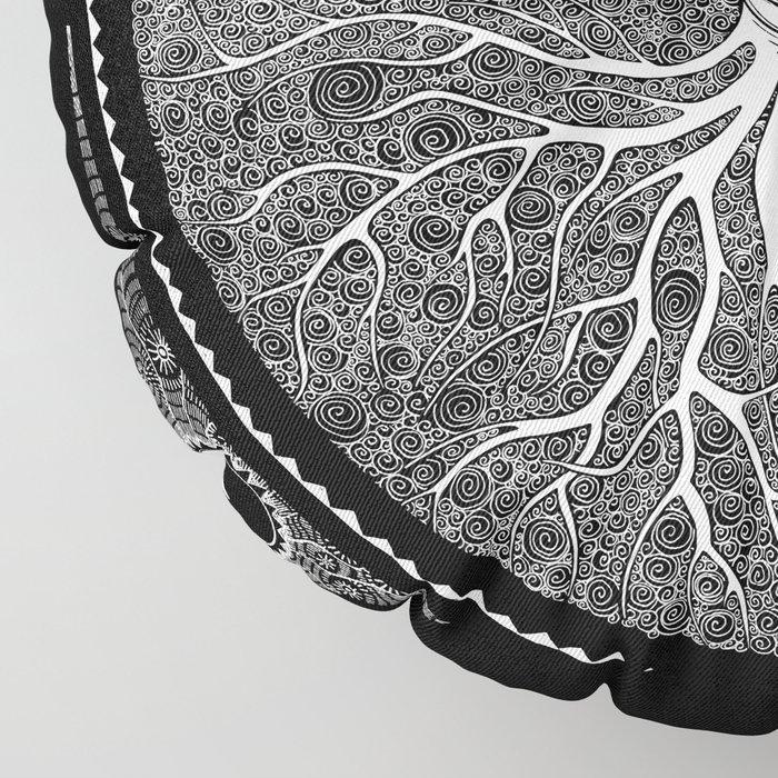 Druid Tree of Life Floor Pillow