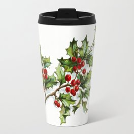 Holly Berries 20171001 by JAMFoto Travel Mug