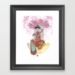 Childrens of the Stars: Cancer Framed Art Print