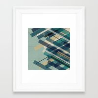 chaos Framed Art Prints featuring chaos by Kakel