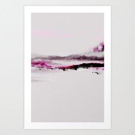 Dark Landscape Art Print