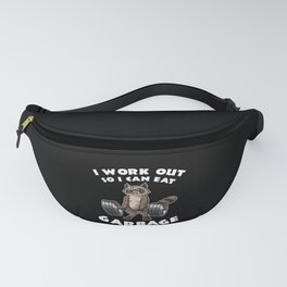 I Work Out So I Can Eat Garbage | Fitness Training Fanny Pack