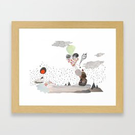 I wonder, Framed Art Print