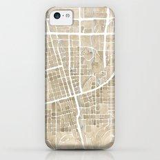 Boulder Colorado Watercolor Map Slim Case iPhone 5c