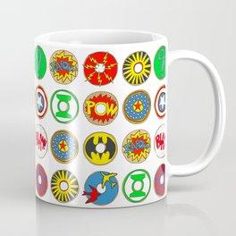 Superhero Donuts Coffee Mug