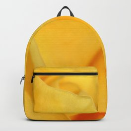 Rose yellow 258 Backpack