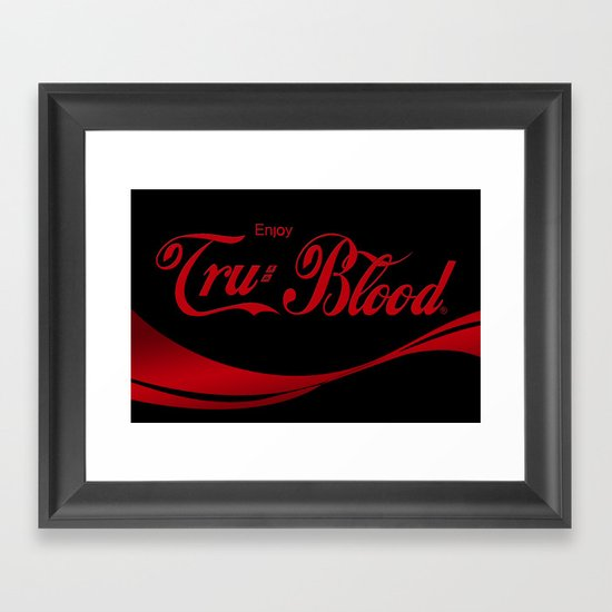 Can't Beat The Real Thing ;) Framed Art Print