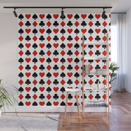 Card Suits Wall Mural