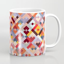 Color squares | vintage Coffee Mug