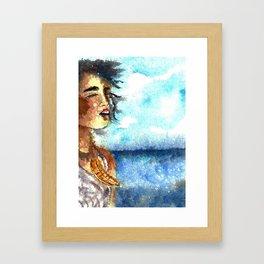 Paikea Framed Art Print