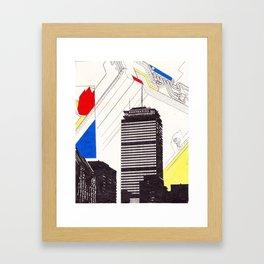 The Pru Framed Art Print