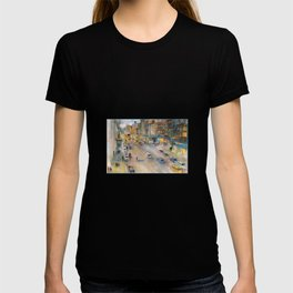 New York City Street View form High Line T-shirt