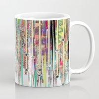 fringe Mugs featuring Fringe Benefits by Lynsey Ledray