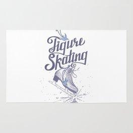 Figure skating Rug