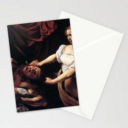 Michelangelo Merisi da Caravaggio - Judith Beheading Holofernes Stationery Cards