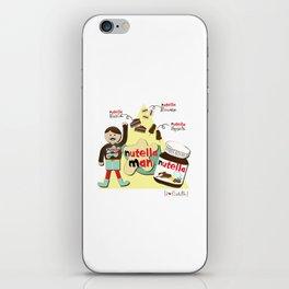 I {❤} NUTELLA iPhone Skin