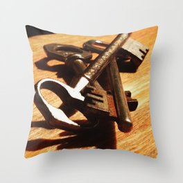 Nice Keys Throw Pillow