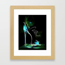 high heel2 Framed Art Print