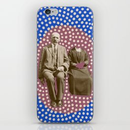 The Invisible Wife iPhone Skin