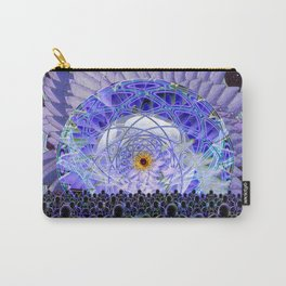 Space Lotus Carry-All Pouch