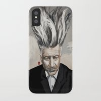 lynch iPhone & iPod Cases featuring David Lynch by Khasis Lieb