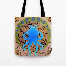 Octopus Nouveau  Tote Bag