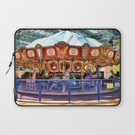 Carousel inside the Mall Laptop Sleeve