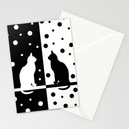 Black and White 82 Stationery Cards
