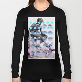 Statue With A Dot Gradient 2 Long Sleeve T-shirt