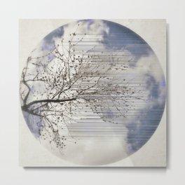 Tree Branch Shake Metal Print