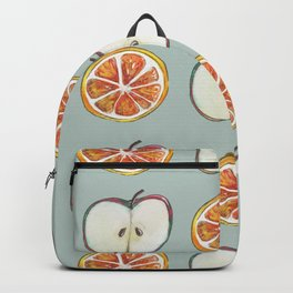 Comparing Apples to Oranges Backpack