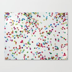 Confetti by Robayre Canvas Print