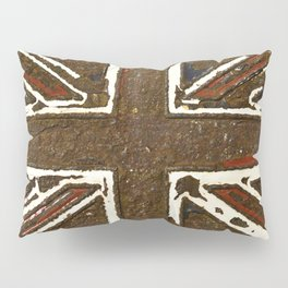 The rusted Union Jack Pillow Sham