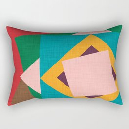Kilim flower Rectangular Pillow
