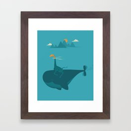 Nature's Submarine Framed Art Print